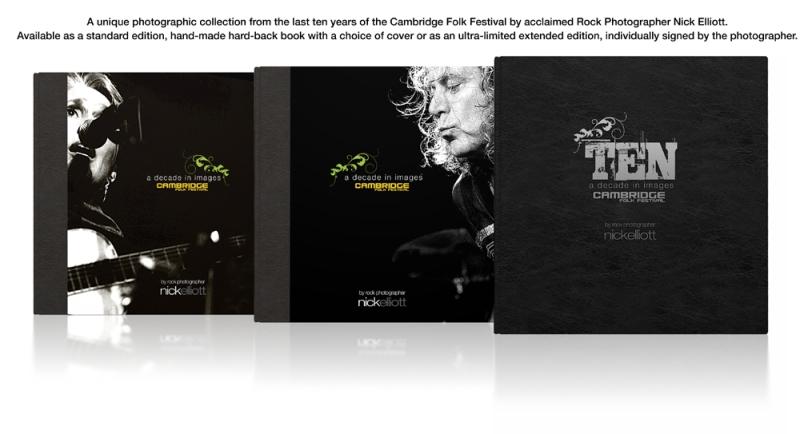 Cambridge Folk Festival Rocks NewBook